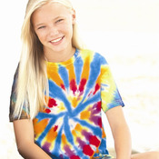 Youth Rainbow Cut-Spiral T-Shirt