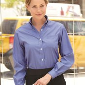 Ladies' Pinpoint Oxford Shirt