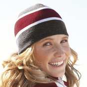 Striped Knit Beanie
