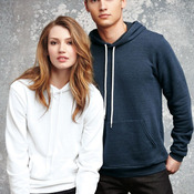 Unisex Poly/Cotton Hooded Pullover Sweatshirt