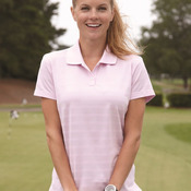 Golf Ladies' ClimaLite® Textured Short Sleeve Polo