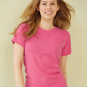 Ladies' Pigment Dyed Ringspun Short Sleeve Crewneck T-Shirt