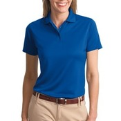Ladies Poly Bamboo Charcoal Blend Pique Polo