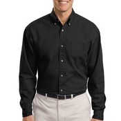 Tall Long Sleeve Twill Shirt