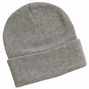 12 Inch Solid Knit Beanie