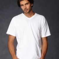 Lightweight Fashion V-Neck T-Shirt Thumbnail