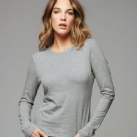 Ladies' Long Sleeve Jersey T-Shirt Thumbnail