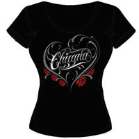 CHICANA LADY V NECK Thumbnail