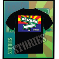 ARIZONA BARRIO 100% PRE SHRUNK CHINGON COTTON. MADE IN SUR PHOENIX. PROCEEDS OF THE SALES WILL GO TOWARD THE ARIZONA BARRIO PROJECT. SUPPORT THOSE WHO SUPPORT YOU Thumbnail